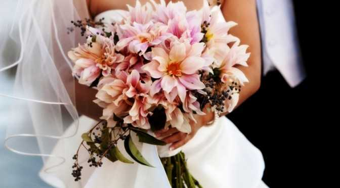 Wild Dahlia Flower Bridal Bouquet Park City Wedding Planner Shellie Ferrer Events
