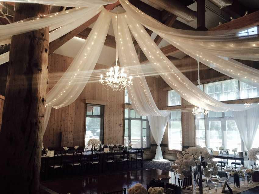 Custom Made Drapery Deer Valley Park City Wedding Planner Shellie Ferrer Events