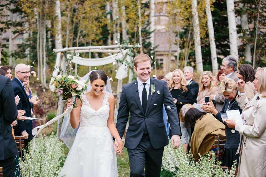 Rustic Wedding Ceremony Deer Valley Park City Wedding Planner Shellie Ferrer Events