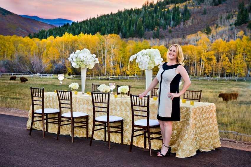 Dreamy Mountain Rustic Wedding Shellie Ferrer Luxury Park City Utah Wedding Planner