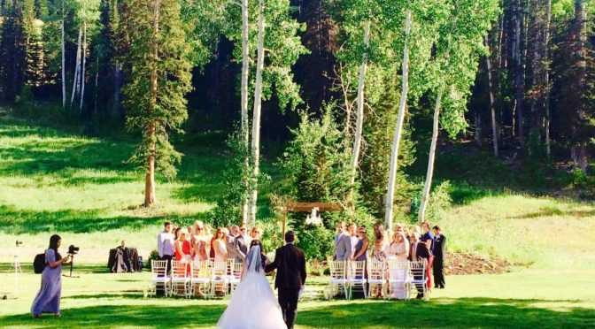 Wedding Ceremony Deer Valley Park City Wedding Planner Shellie Ferrer Events