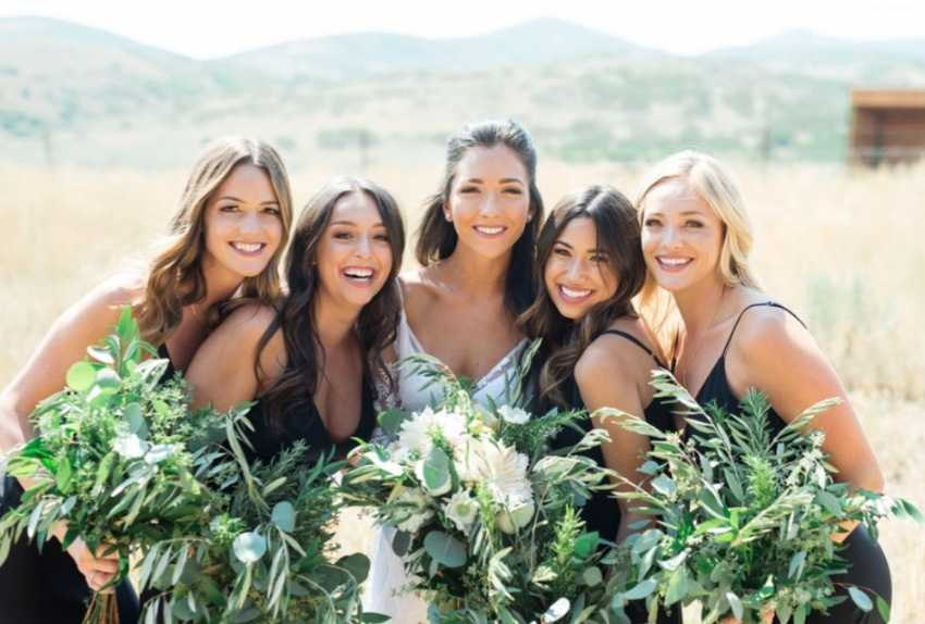 Bride& Bridesmaids Park City Wedding Planner Shellie Ferrer Events